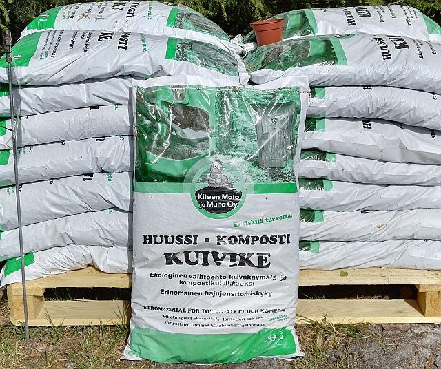 Huussi- ja kompostikuivike