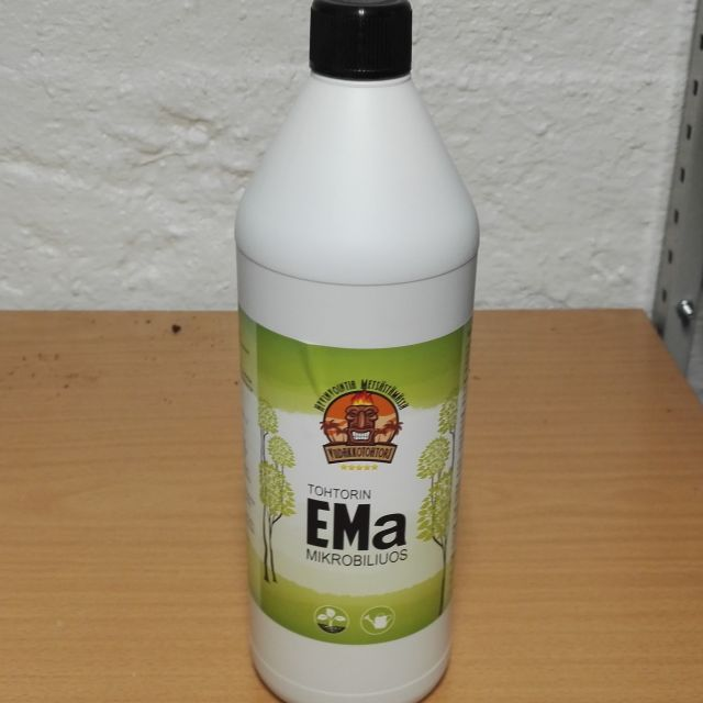 Tohtorin EMa mikrobiliuos – kotimainen tuote!